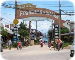 thailandia koh samui villaggi